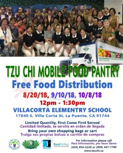 free food distribution at villacorta elementary school rowland