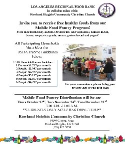 RH Mobile Food Pantry